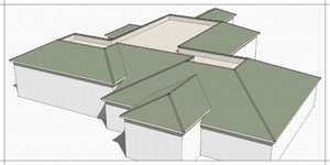 How To Make A Roof In Google Sketchup Tutorial Update