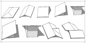 How to make a Roof in Google SketchUp ~ Tutorial Update